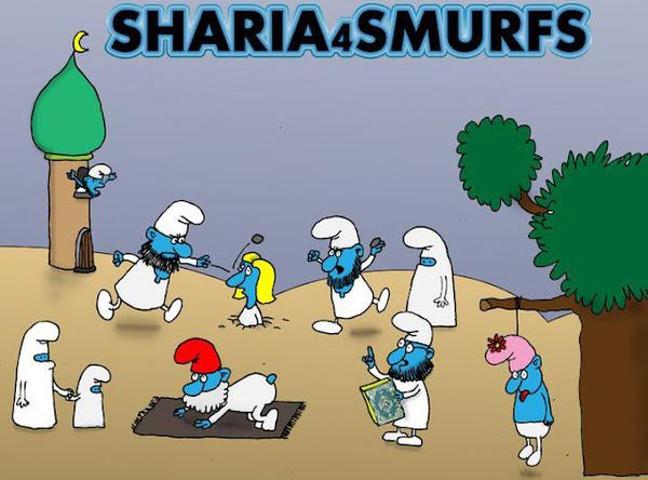 sharia-smurfs